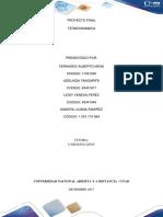 Proyecto Final Termodinamica