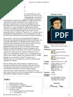 Wikipédia - Martinho Lutero