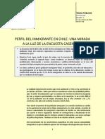 Tp 1277 Perfil Del Inmigrante en Chile Una Mirada a La Luz de La Encuesta Casen 2015 21-10-2016