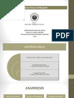 Status Ortopedi Tiwi