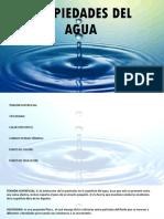 Propiedades Del Agua