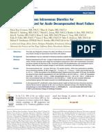 UF vs IV Diuretic