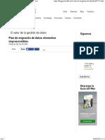 Plan de Migración de Datos_ Elementos Imprescindibles