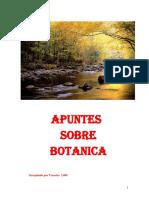 Apuntes Sobre Botanica