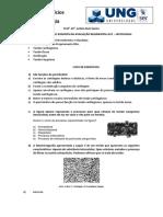 Lista de Exerc Cios Histologia Para AV1
