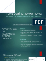 12 - Diffusivitas Mekanisme Perpindahan Massa
