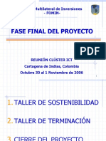 Fase Final Del Proyecto