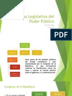 Rama Legislativa Del Poder Público