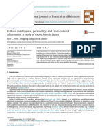 2013_Huff, Song & Gresch_Cultural Intelligence, Personality, And Cross-cultural Adjustment- A Study of Expatriates in Japan