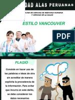 Semana 9_estilo Vancouver Mg. Cecilia Ignacio p