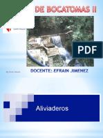 Sesion 5 Bocatomas Diseño(Aliviadero Poza Disip Canall Comp Pilares) II A