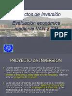 Conceptos Básicos de Proyectos VAN y TIR (2)