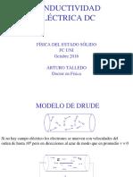 Física del estado Sólido CONDUCTIVIDAD_2016