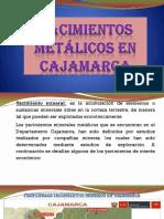 Yacimientos Metálicos en Cajamarca
