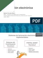 Capacitacion Fact Electronica2014