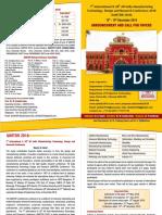 AIMTDR 2018 Brochure