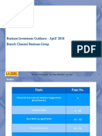 Monthly Investment Guidance April 2018