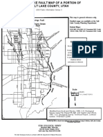salt lake county fault lines