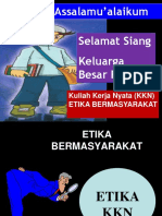 Pembekalan Kkn XXXI Tahun 2018