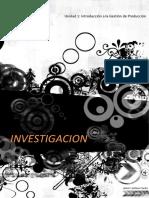 Joshua - Investigacion Gestión de La Producción i Unidad 1