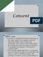 Consent (Law)