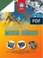 Komponen Utama Mesin Bensin Lengkap