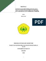 Proposal Skripsi Second Edited