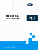 2.3.2 ZTE OCS OCU Product Description