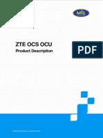 2.3.2 ZTE OCS OCU Product Description