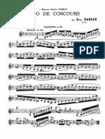 IMSLP28636-PMLP62948-Rabaud - Solo de Concours, Op. 10 (Clarinet and Piano)