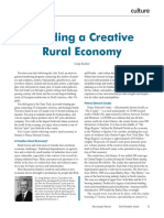 Building a Creative Rural