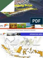 IPC Company Profile Cab. Tanjung Priok - 15 Apr 2014