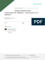 Revisado 08082013 Cálculo de Un Enlace Satelital Entre Guadalajara y Isla Socorro