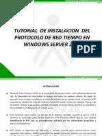 Tutorial de Instalacion de Ntp en Windows Server 2008