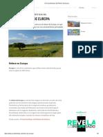 10 Características Del Relieve de Europa
