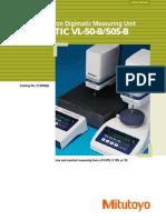 Mitutoyo - Precyzyjny Przyrząd Pomiarowy Litematic VL-50B, 50S-B - E13006(2) - 2015 EN