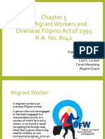 Migrant Workers and Overseas Filipino Act of 1995