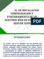 Tutorial de Instalacion y Configuracion de Un Servidor Web en Windows Server 2008