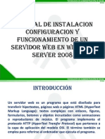 Tutorial de Instalacion y Configuracion de Un Servidor Web en Windows Server 2008