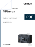 w578 Nx-series Nx1p2 Cpu Unit Hardware Users Manual En