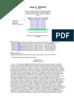 Lege 255 Din 2010 Expropriere Pt Cauza de Utilitate Publica Pt Realizare Obiective de Interes N J L