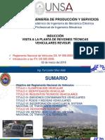 INDUCCIÓN Para Visita a La Planta de Revisiones REVISUR