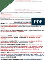 IDEAS RECOLECTADAS DE COMO CONSTRUIR IDENTIDAD