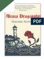 Naomi Novik - Aleasa dragonului [V 1.0].docx