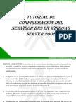 Tutorial de Instalacion de DNS en Windows Server 2008