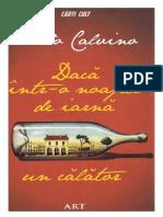 Calvino, Italo - Daca Într-o Noapte de Iarna, Un Calator [v 1.0]