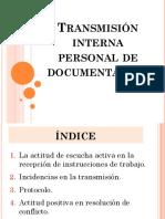 Transmisión Interna Personal de Documentación