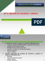 UT 4 - Gestión de usuarios