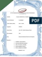 Informe Final de La Investigación Resumen
