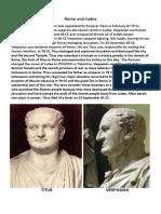 Rome and Judea